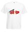 Do diabla z ta miloscia koszulka z nadrukiem na walentynki mezczyzna werprint 69 2