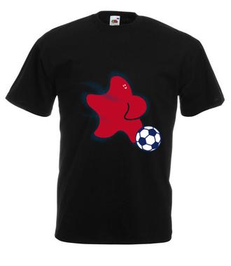 Gwiazda piłki nożnej - Koszulka z nadrukiem - Sport - Męska