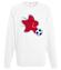 Gwiazda pilki noznej bluza z nadrukiem sport mezczyzna werprint 327 106