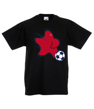 Gwiazda piłki nożnej - Koszulka z nadrukiem - Sport - Dziecięca