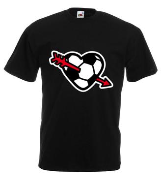 Z miłości do piłki - Koszulka z nadrukiem - Sport - Męska