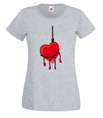 Oddaję się Tobie bez reszty - Koszulka z nadrukiem - na Walentynki - Damska