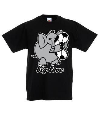 Wielka miłość… do sportu - Koszulka z nadrukiem - Sport - Dziecięca