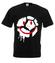 Usmiech tylko gdy pilka w grze koszulka z nadrukiem sport mezczyzna werprint 340 1