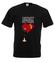 Trafiony zatopiony milosc koszulka z nadrukiem na walentynki mezczyzna werprint 73 1
