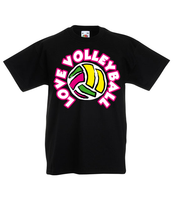Siatkowka sport pelen pasji koszulka z nadrukiem sport dziecko werprint 360 82
