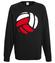 Polska siatkowka bluza z nadrukiem sport mezczyzna werprint 361 107