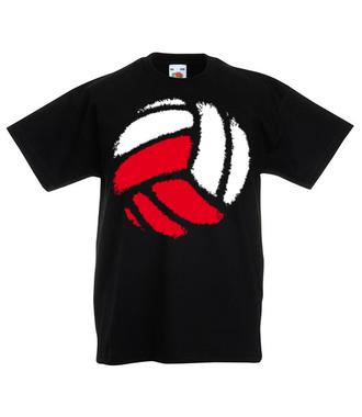 Polska siatkówka - Koszulka z nadrukiem - Sport - Dziecięca