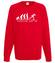 Ewolucja narty gora bluza z nadrukiem sport mezczyzna werprint 364 108