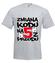 Zmiana kodu na 5 z przodu koszulka z nadrukiem urodzinowe mezczyzna werprint 79 6