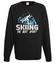 Narciarstwo moim sportem bluza z nadrukiem sport mezczyzna werprint 366 107