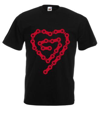 Rowerove love - Koszulka z nadrukiem - Sport - Męska