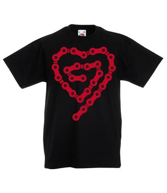 Rowerove love - Koszulka z nadrukiem - Sport - Dziecięca