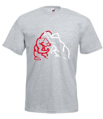 Dawaj, na misia! - Koszulka z nadrukiem - Sport - Męska
