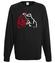 Dawaj na misia bluza z nadrukiem sport mezczyzna werprint 385 107