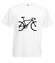 Rowerem ku zwyciestwu koszulka z nadrukiem sport mezczyzna werprint 387 2