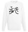 Rowerem ku zwyciestwu bluza z nadrukiem sport mezczyzna werprint 387 106