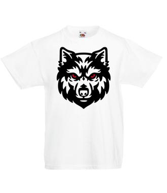 Poczuj w sobie siłę wilka - Koszulka z nadrukiem - Sport - Dziecięca