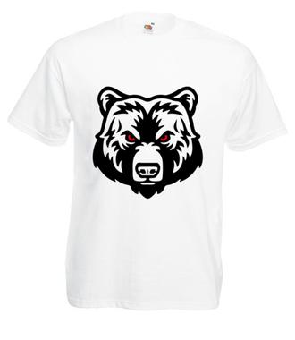 Niedźwiedzia potęga - Koszulka z nadrukiem - Sport - Męska