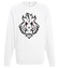Jak dziki dzik bluza z nadrukiem sport mezczyzna werprint 397 106
