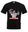 Trening czyni mistrza koszulka z nadrukiem sport mezczyzna werprint 399 1