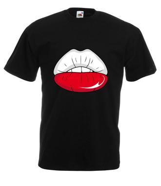 Do twarzy Ci ze sportem - Koszulka z nadrukiem - Sport - Męska