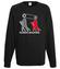 Kocham to co robie bluza z nadrukiem sport mezczyzna werprint 401 107