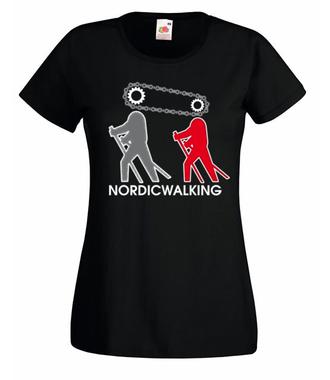 Kocham to, co robię - Koszulka z nadrukiem - Sport - Damska