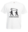 Niczym motorek w nogach koszulka z nadrukiem sport mezczyzna werprint 405 2