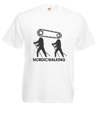 Niczym motorek w nogach - Koszulka z nadrukiem - Sport - Męska