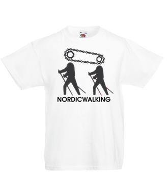 Niczym motorek w nogach - Koszulka z nadrukiem - Sport - Dziecięca