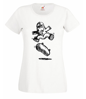 Skate mój żywioł - Koszulka z nadrukiem - Sport - Damska