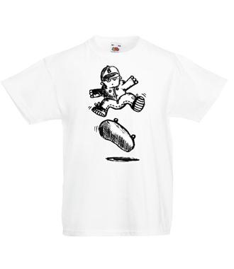 Skate mój żywioł - Koszulka z nadrukiem - Sport - Dziecięca