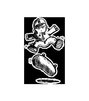 Skate moj zywiol grafika na koszulke dziecieca 406