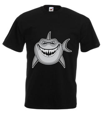 Atak rekina - Koszulka z nadrukiem - Sport - Męska