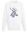 Edzio jelen bluza z nadrukiem zwierzeta mezczyzna werprint 409 106