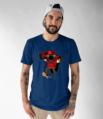 Aj em Rap. Muzyka.  - Koszulka z nadrukiem - Muzyka - Męska