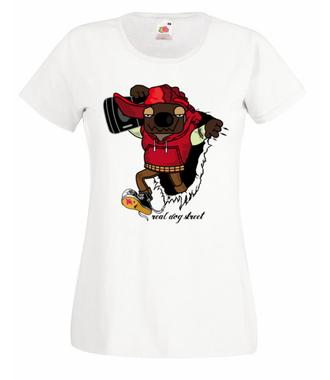 Aj em Rap. Muzyka.  - Koszulka z nadrukiem - Muzyka - Damska