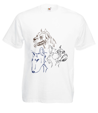 To Pitt czy Bull - Koszulka z nadrukiem - Zwierzęta - Męska