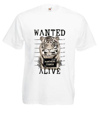 Ciągle poszukiwany – żywy! - Koszulka z nadrukiem - Zwierzęta - Męska
