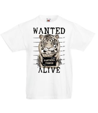 Ciągle poszukiwany – żywy! - Koszulka z nadrukiem - Zwierzęta - Dziecięca