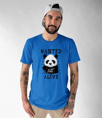 Poszukiwana panda - Koszulka z nadrukiem - Zwierzęta - Męska
