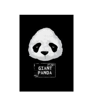 Poszukiwana panda grafika na koszulke meska 416