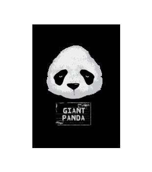 Poszukiwana panda grafika na koszulke damska 416
