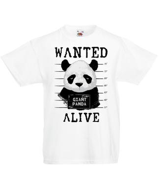 Poszukiwana panda - Koszulka z nadrukiem - Zwierzęta - Dziecięca