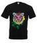 Print z kolorowym tygrysem koszulka z nadrukiem zwierzeta mezczyzna werprint 418 1