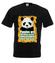 Wielorasowa panda koszulka z nadrukiem zwierzeta mezczyzna werprint 419 1
