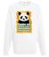 Wielorasowa panda bluza z nadrukiem zwierzeta mezczyzna werprint 419 106