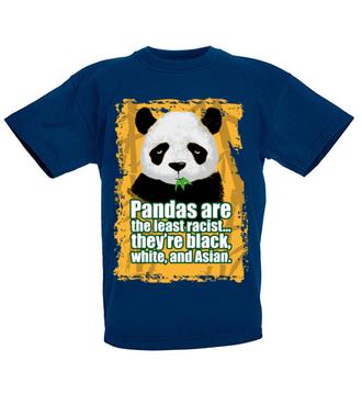 Wielorasowa panda - Koszulka z nadrukiem - Zwierzęta - Dziecięca