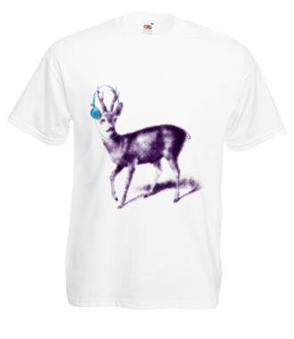 Sarnie odgłosy lasu - Koszulka z nadrukiem - Zwierzęta - Męska